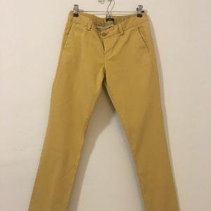 Mustard Gap Pants